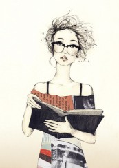 book-girl-illustration-reading-Favim.com-321565