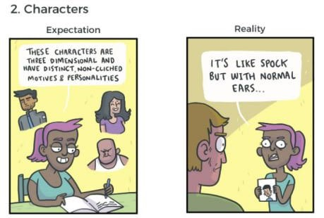 FF - Characters Expectation Vs. Reality