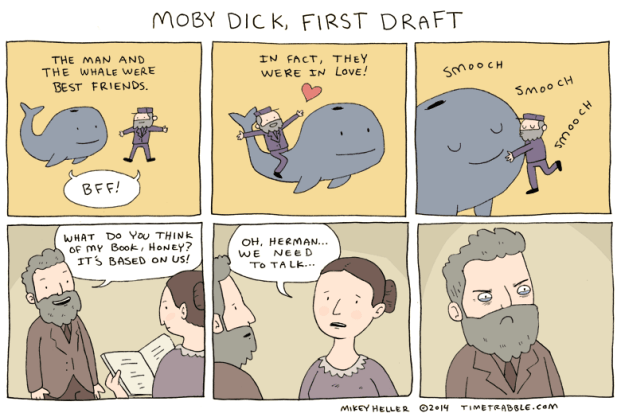 2014-01-20-Moby-Dick-First-Draft